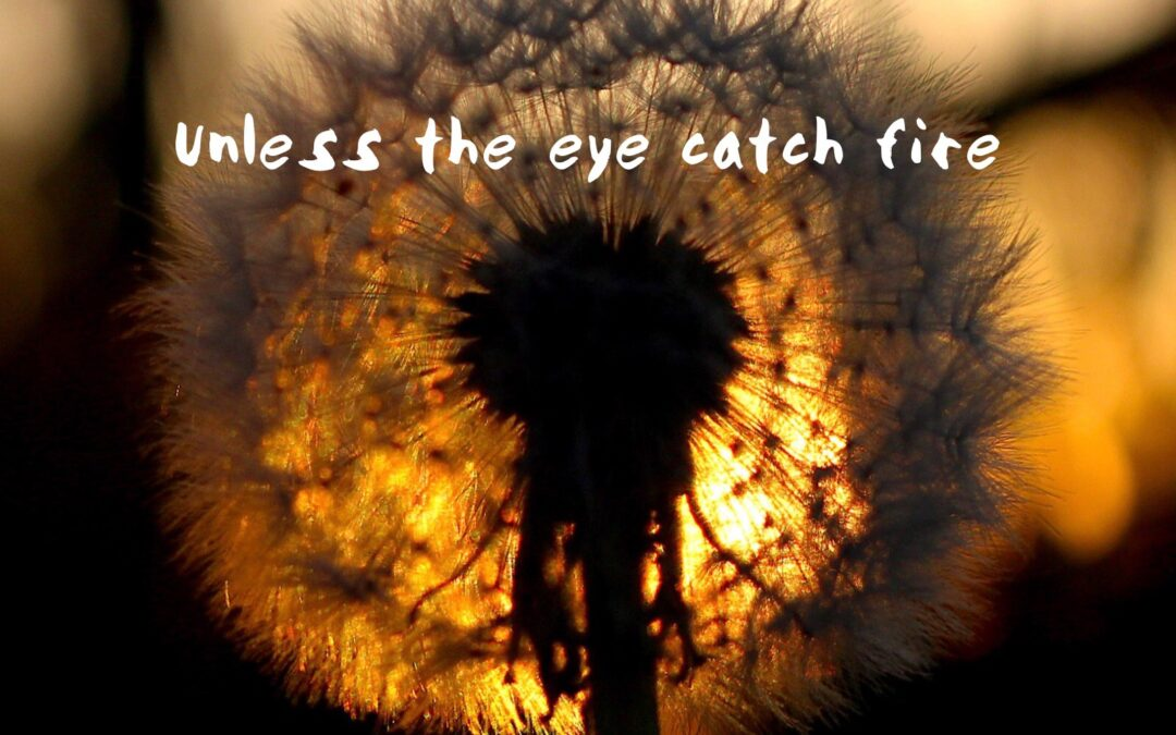 Unless the Eye Catch Fire
